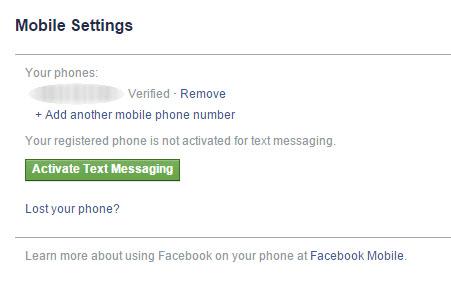 facebook telefon numarası kaldırma