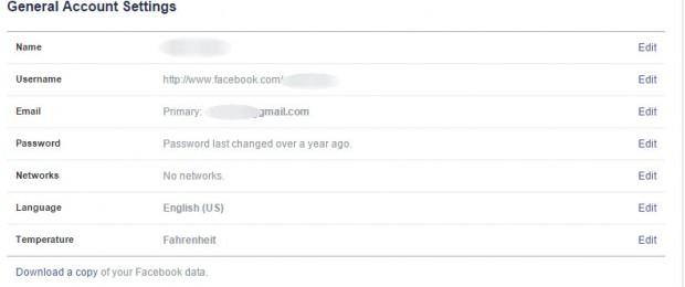 facebook'ta şifre nasıl değiştirilir